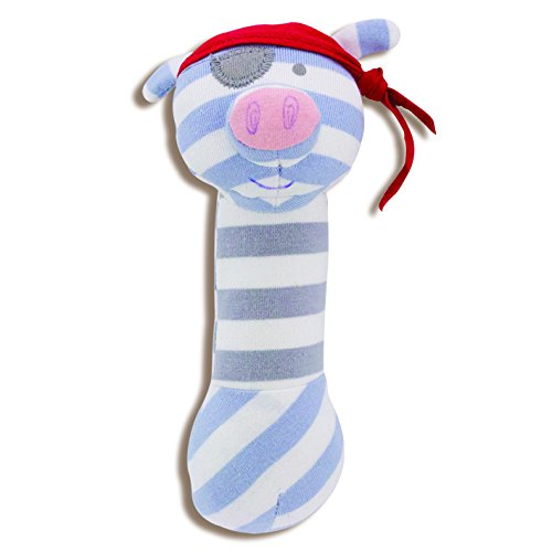 Organic Farm Buddies, Pirate Pig Squeaky Toy