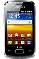Samsung Galaxy Y Duos S6102 Smartphone, Display 3,14 pollici, Fotocamera 3,2 MP, Android 2.3, Nero [Germania]