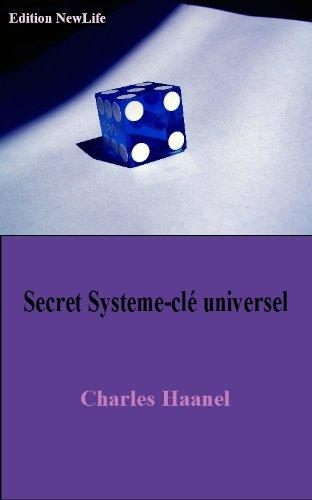 Couverture du livre Secret Système-clé Universel Du Succé