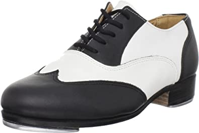 Sansha Black And White Tap Shoes