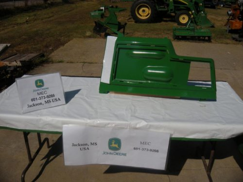 John Deere Original Equipment Panel #AM128982 image