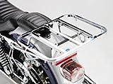 キジマ(Kijima) ミーティングキャリア3分割式(角パイプ) ハーレーダビッドソン ダイナモデル('06-) スチール製クロームメッキ HD-08205