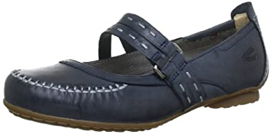 Camel active Indiana 13 7361304, Damen Ballerinas, Blau (jeans), EU 37.5 (UK 4.5) (US 6.5)
