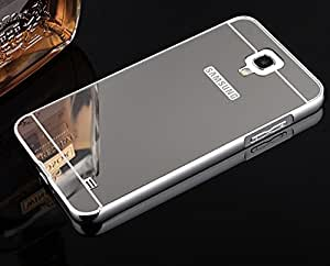 Kapa Luxury Mirror Effect Acrylic back + Metal Bumper Case Cover for Samsung Galaxy Note 3 Neo - Silver
