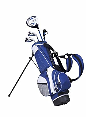 PowerBilt Junior Blue 4 Club Complete Golf Set (4-Feet - 4-Feet 4-Inch) at Sears.com