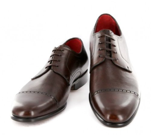 New Paolo Scafora Brown Shoes 1110 Your Extra Price Ngay