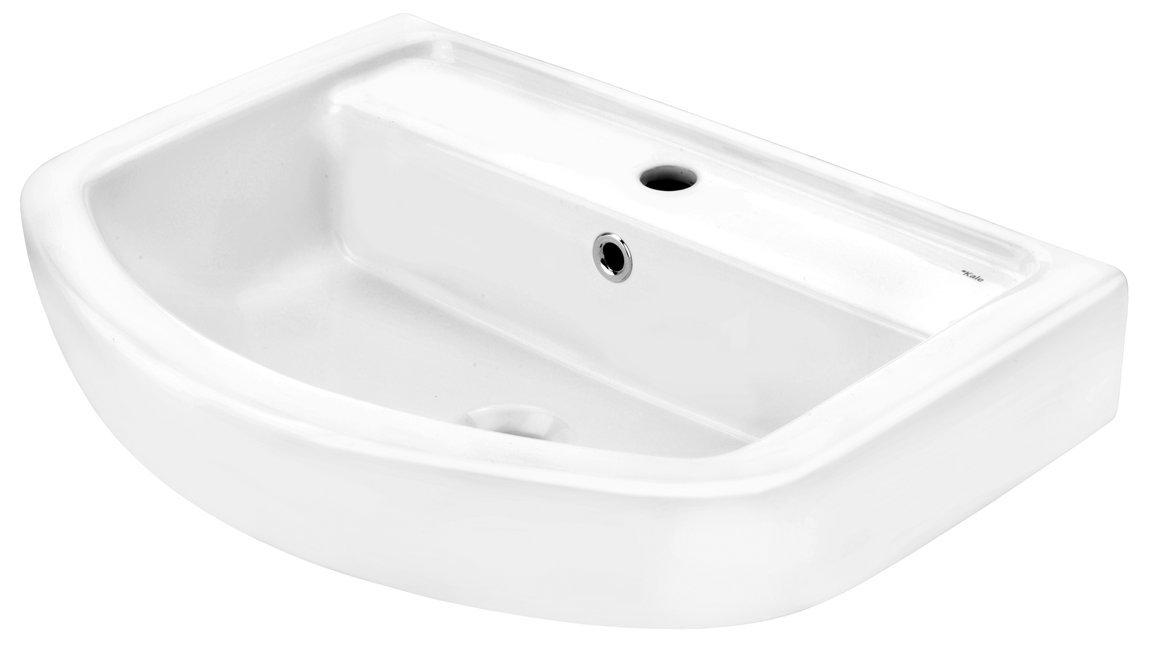 Cornat ONDO Waschtisch mit clean plus Oberfläche, 60 cm, weiß  BaumarktKundenbewertung und weitere Informationen