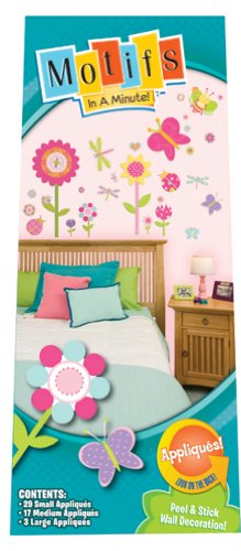 Motifs In A Minute Peel and Stick Wall Decor Appliqués Butterflies - 1