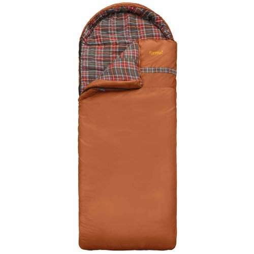 Eureka Caliber 15-Degree F Flannel Sleeping Bag, Big