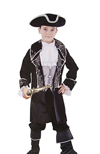 Ace Halloween Children's Kids Boys Cute Caribbean Pirate Costumes