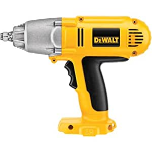 DEWALT Bare-Tool DW059HB 1/2-Inch 18-Volt Cordless Impact Wrench with Hog Ring Anvil (Tool Only, No Battery)