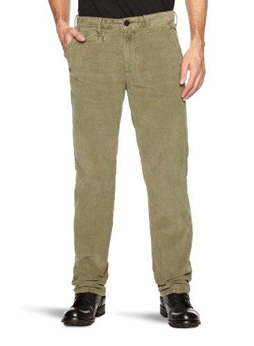 Tommy Hilfiger Sasha FA12 CRD GD Straight Men's Trousers Green Olive W32 INxL30 IN