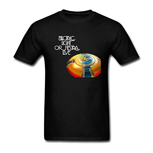 VEBLEN Men's Electric Light Orchestra Design Cotton T Shirt (Blades Of Chaos For Sale)