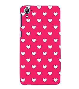 Attractive Love Design 3D Hard Polycarbonate Designer Back Case Cover for HTC Desire 826::HTC Desire 826 Dual Sim::HTC Desire 826 DS (GSM + CDMA)