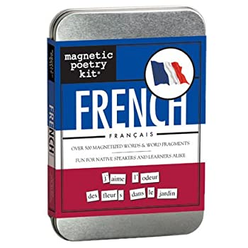 French Magnetic Poetry Kit