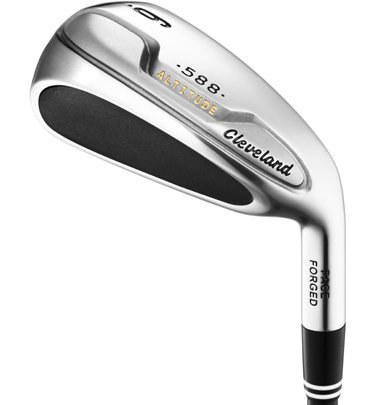 Cleveland Golf Men's Altitude Iron Set, Left Hand, Steel, Stiff, 5-PW