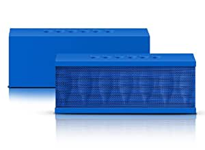 Photive CYREN Portable Wireless Bluetooth Speaker with Built in Speakerphone 8 hour Rechargeable Battery (Blue)