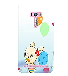 GADGET LOOKS PRINTED BACK COVER FOR Asus Zenfone Selfie ZD551KL MULTICOLOR