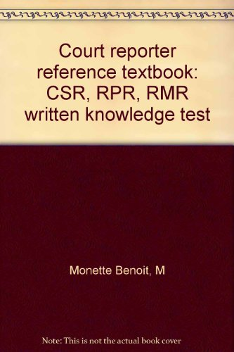 court-reporter-reference-textbook-csr-rpr-rmr-written-knowledge-test