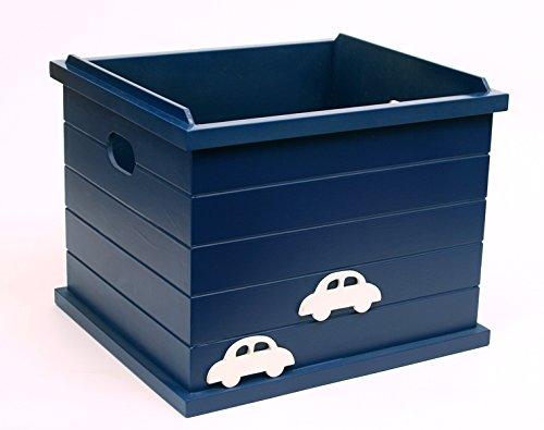 FLY FROG KIds Toy Storage:Car Blue