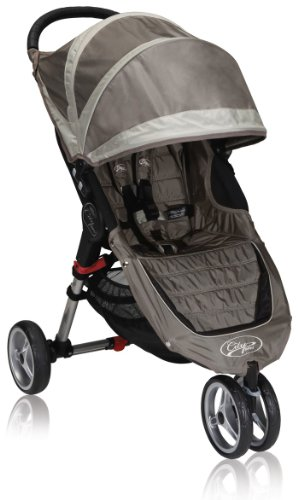 Baby Jogger City Mini Single Stroller, Arena / Piedra