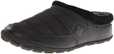 Columbia Men's Packed Out Omni-Heat Slipper,Black,7 M US
