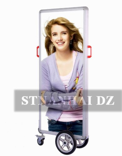 Stnanhai World Famous,Indoor/Outdoor Display Light Boxes Signboards,Rechargable Slim Battery Powered For Exhibition