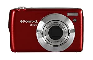 "Polaroid IS529 16 Megapixel Kompakt-Digitalkamera - Rot (16MP, 2.7 ""Screen, 5-fach optischer Zoom, Li-Ionen-Akku)"