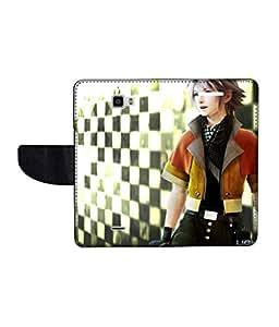 KolorEdge Printed Flip Cover For Coolpad Dazen 1 - Multicolor(50KeMLogo10145CoolpadDazen1)