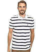 Nautica Men's New Stripe Polo