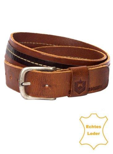 Freeman T. Porter-Cintura in vera pelle arwood Braun (Original) XL