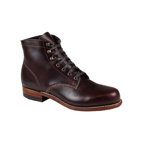 (ウルヴァリン) WOLVERINE 1000マイル ブーツ W00137 [コードバン] 1000 MILE BOOT NO.8 レザー メンズ プレーントゥ ウルバリン US8.0(27.0cm) CORDOVAN (並行輸入品)
