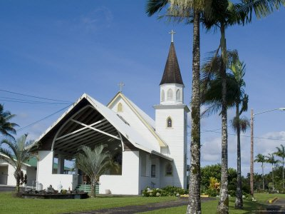 Sacred Heart Catholic Church, Pahoa, Island of Hawaii