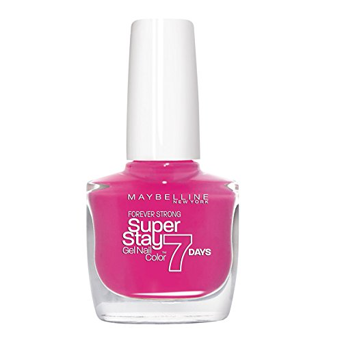 Maybelline Forever Strong Super Stay 7 Days Gel Nail Colour Pro, Bubble Gum Number 155 10 ml (Bubble Gum Nail Polish compare prices)