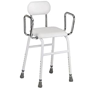 All Purpose Perching Stool - adjustable height and arms from Fenetic Wellbeing