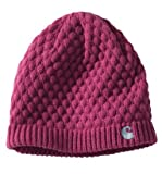 Carhartt WA060 Women's Embroidered 'C' Knit Hat Magenta One Size