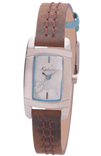 Kahuna KLS-0071L Ladies brown strap watch