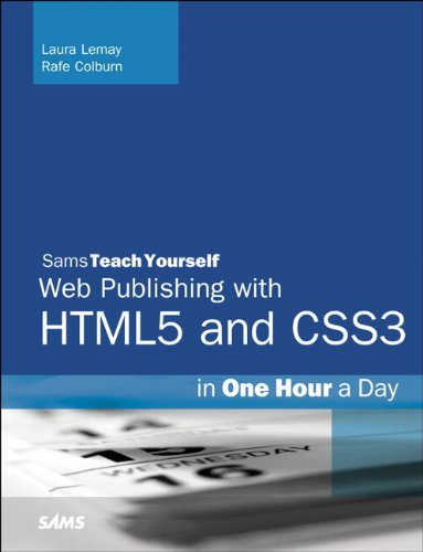 Sams Teach Yourself Web Publishing with HTML5 and CSS3