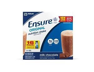 Ensure Bottles, Milk Chocolate, 8-Ounces, 16 Count Bottles