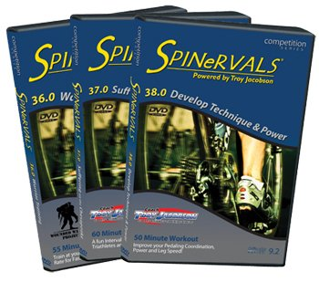 Spinervals Competition Series 3-DVD set: 36.0,
