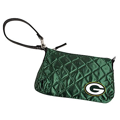 Green Bay Packers Quilted Wristlet