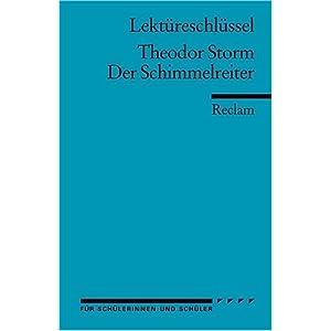 eBook Cover für  Theodor Storm Der Schimmelreiter Lekt xFC reschl xFC ssel