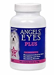 Angels eyes Effective Tear Stain Remover Supplement Eye Irritation for Pet Dogs or Cat, 2.64 oz. NEW & Improve Formula! Natural Beef USA Made
