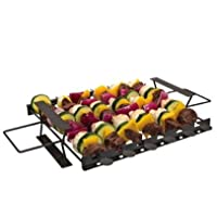 Char Broil Non Stick Deluxe Perfect Kabob Rack
