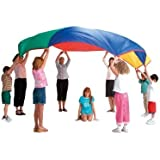 "PLAY PARACHUTE 5m 16ft 6"" BY POP UP CO + BAG & 9 GAMES"