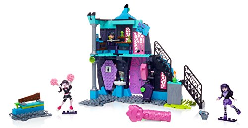 Mega-Bloks-Monster-High-School-Fang-Out-School-Play-Set-wDraculaura-and-Elissabat-Dolls