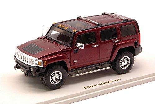 hummer-h3-2006-sonoma-red-met143-luxury-auto-stradali-modello-modellino-die-cast