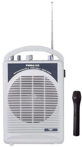 Pyle-Pro - Rechargeable Pa Speaker With Wireless Microphone