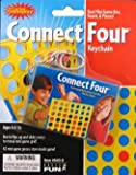 41psWTjimqL. SL160  Connect Four Real Mini Game Box, Board, and Pieces Keychain