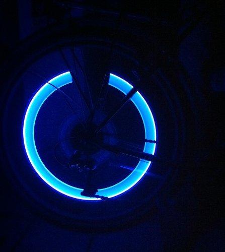 2-Stck-Leuchtende-LED-Ventilkappen-Fahrradbeleuchtung-Speichenlicht-Stylisch-Felgen-Beleuchtung-BLAU-RBrothersTechnologie